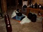 cellar before