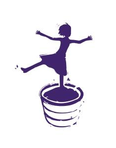 stomping girl logo winner