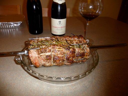 Pork roast and Pinot