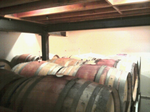 barrel room