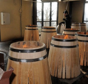 Shaping the barrels